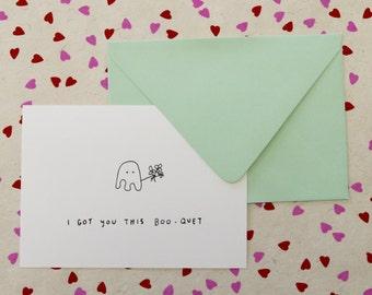 Little Ghost Card