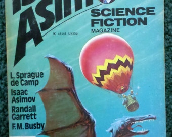 Vintage Book- Icaac Asimov's Science Fiction Magazine- Winter 1977