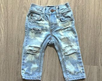 Spring Break Skinnies 5t - distressed denim - ripped jeans - skinny jeans