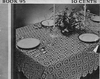 PDF New Table Settings vintage pattern book