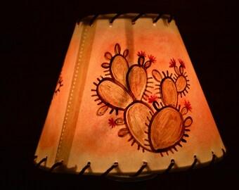 lamp shade -texas -cactus design