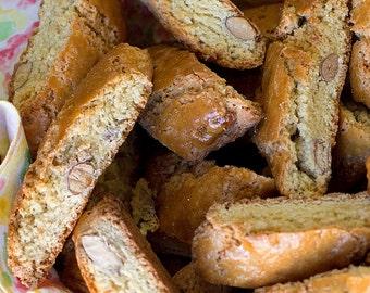 Homemade Italian Biscotti Di Prato