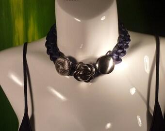 "Necklace Series ""eighties"" # 110-unique piece"