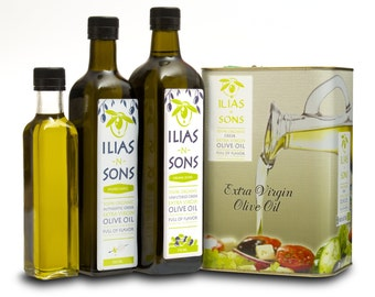 Fresh Organic Extra Virgin Olive Oil - Greek