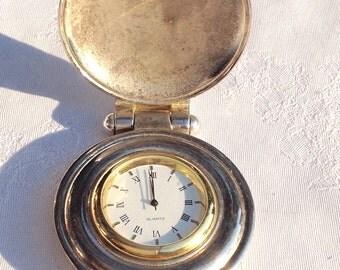 Pocket watch quartz with NMU logo