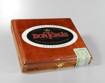 Don Toma's Vintage Wood Cigar Box
