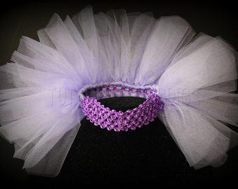 Spring Fanny Pouf Lavender Lilac Half Tutu Newborn Baby Toddler Young Child Teen made to order handmade photo prop