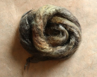Hand-dyed Tussah silk
