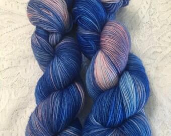 Fairy Fountain - Hand dyed yarn, sock yarn RTS