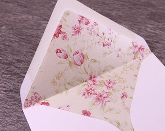 Decorative Paper Envelope Liners