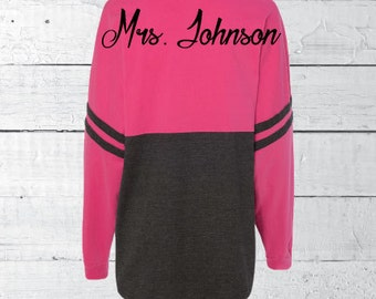Jersey long sleeve shirt, bride shirt, before the big day, future mrs. shirt, custom bride sweatshirt, bridesmaid gifts, bride gift