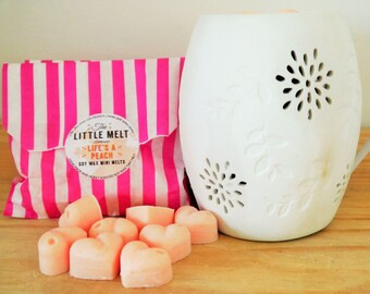 10 Life's A Peach Soy Wax Melts - Highly Scented