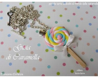 "♥ Miniature ""sweet lollipop""-Malinconiadinfanzia-Handmade"