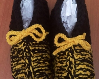 Handmade Knit Booties (1 Available of Each)