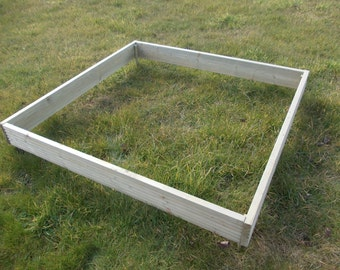 Raised Bed Planter / Garden Vegetable / Flower Bed / Tanalised Deckng Timber
