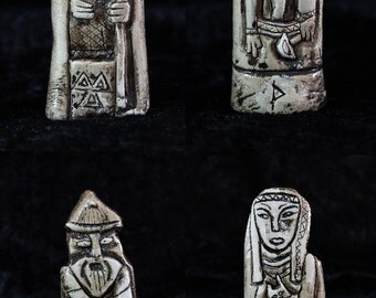 4x Norse gods/goddesses