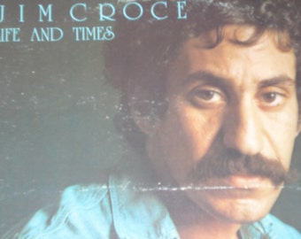 Jim Croce record album Life and Times vintage vinyl record