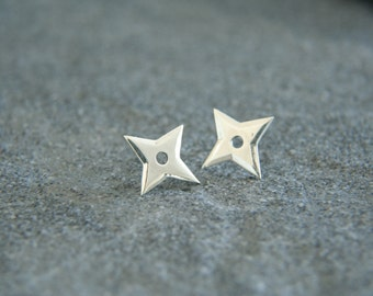 Earrings Shuriken