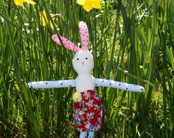 Rabbity the stuffed rabbit
