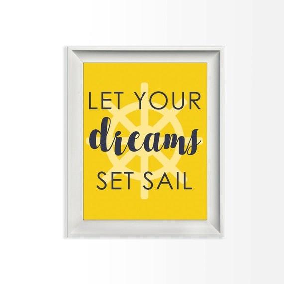 063 Let Your Dreams Set Sail Nautical