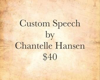 Custom Speech