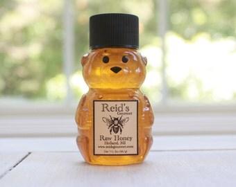 Reid's Raw Honey 2oz Mini Bear