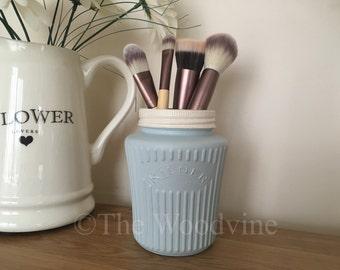 Vintage Kilner Vase also brush holder