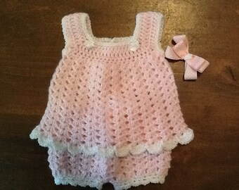 Pretty in Pink Baby Outfit