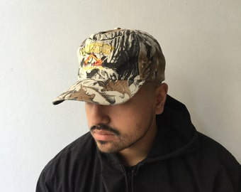Real Tree Camouflage Construction Cap