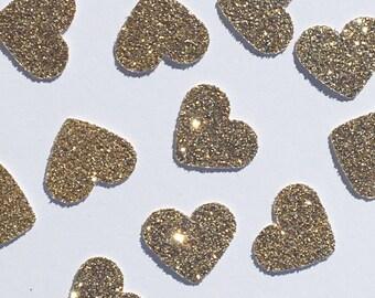 Heart Confetti Glitter Confetti Bridal Shower Confetti Showe Confetti Baby Confetti Wedding Confetti Anniversary Confetti Gold Silver
