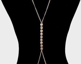 Body Chain with crystal detail