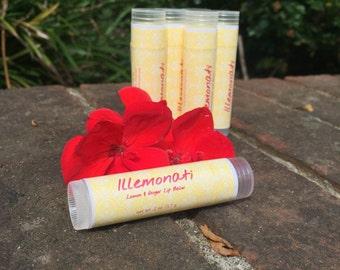 Illemonati- Lemon and Ginger Lip Balm