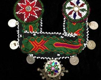 Green Gypsy Tribal Headdress