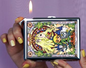 Cigarette case The Legend of Zelda, Chrome Lighter, unusual lighters, Lighter, Lighter