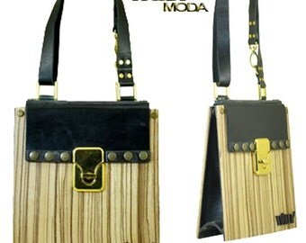 handmade wood bag Free shipping!!!
