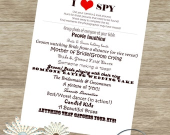 I SPY Wedding Game-Digital