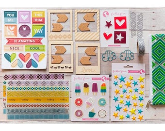 SWEET TREATS Embellishment Kit