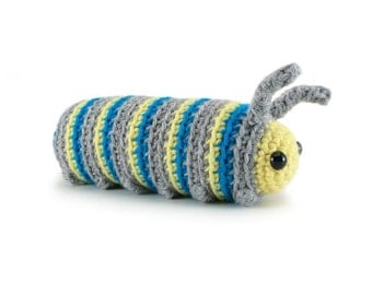 Caterpillar crochet pattern pdf instant download