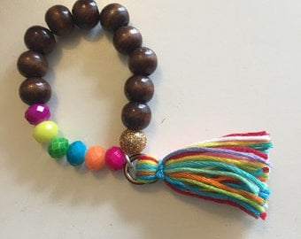 Childs Over The Rainbow Bracelet