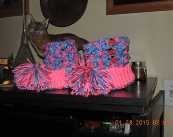 croc bottie slippers