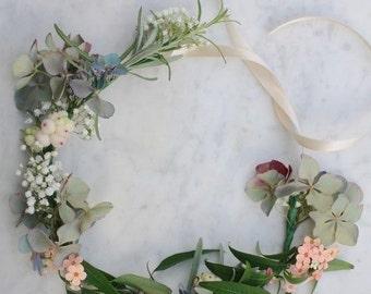 Bridal crown/flower halo