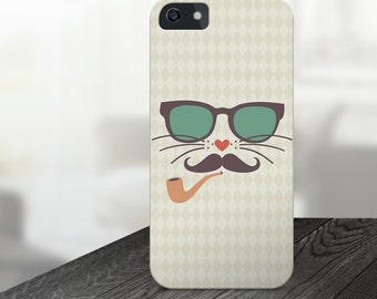 hipster iphone case, hipster iphone 6 case, hipster iphone 6s case, cat iphone case, kitty iphone case, cate iphone 6 case, cat iphone 5s