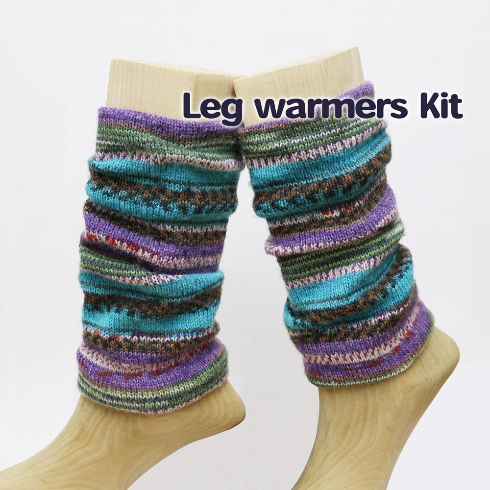 Knitting Pattern Leg Warmers Circular Needles : Leg Warmers Kit, KA, Asymmetric Circular Needle 9.5