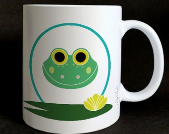 "Mug ""les Grozeuil"" Minstinguette the frog"