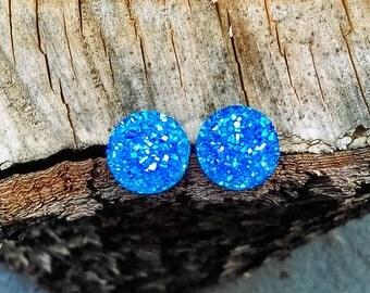Sparkle AB Studs Blue