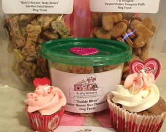 All-Natural Gourmet Pet Treats: Pupcakes, Puffs, Crumbles, & Bones