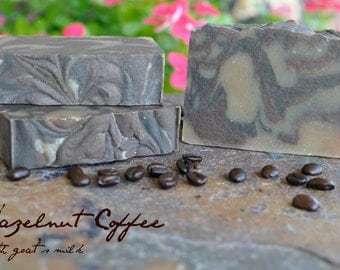 Hazelnut Latte- Natural, Handmade, Artisan,  Goat's Milk Soap by Daisy Belle Soaps