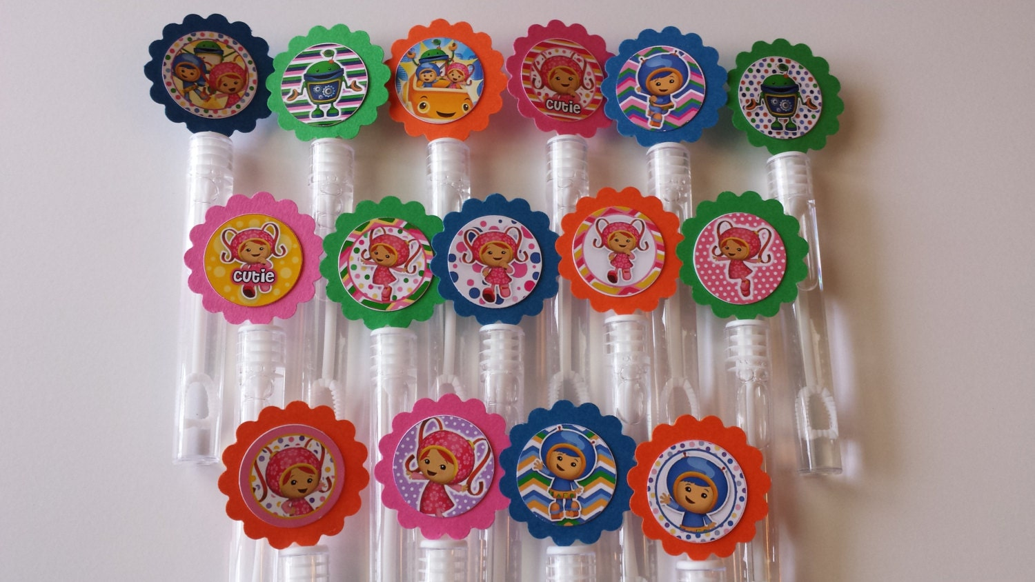 Team umizoomi mini bubble wands birthday party favors set of for Mini bubble wands