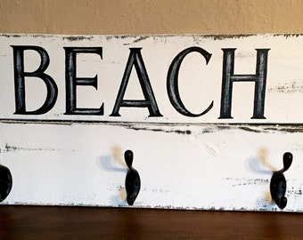 BEACH coat rack