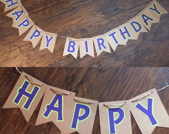 Happy Birthday Sign- Font 4